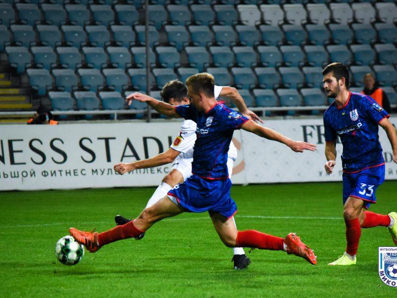 МФК «Николаев» пропустил от «Черноморца» два гола (ВИДЕО)