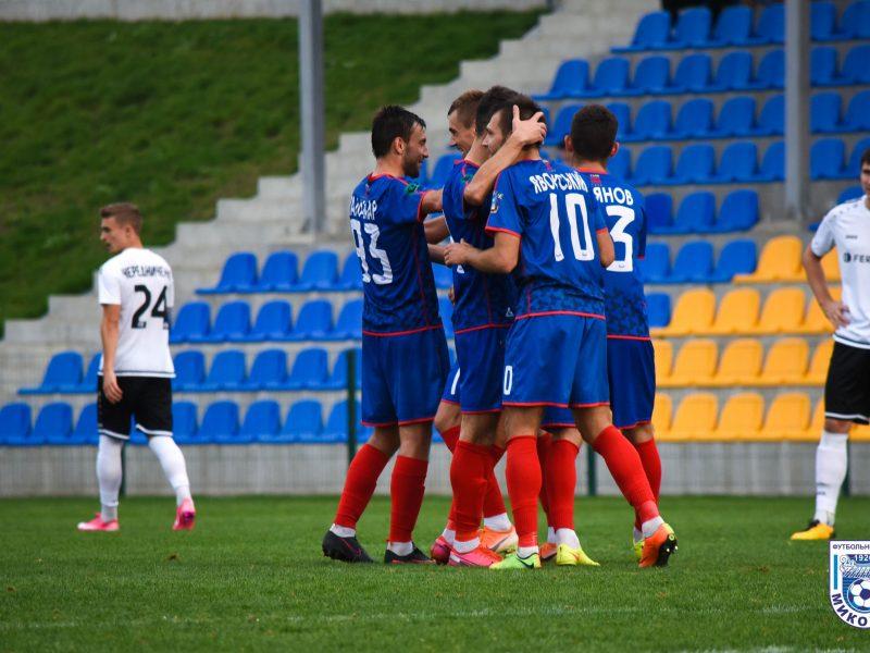 Последний выездной матч в этом году МФК «Николаев» завершил победой (ВИДЕО)