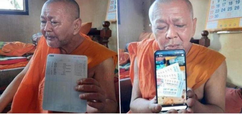 Монах в Таиланде выиграл 580 тыс.долларов в лотерею