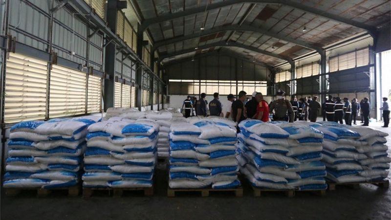 Рекордная партия наркотиков в Таиланде, оценочной стоимостью в $1 млрд, оказалась чистящим порошком