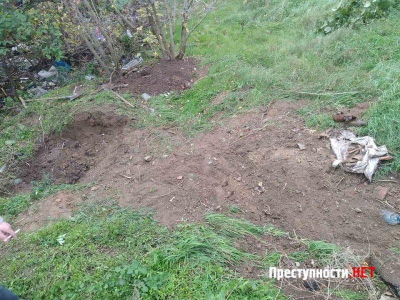 В Николаеве копали яму  – нашли мешок с человеческими останками