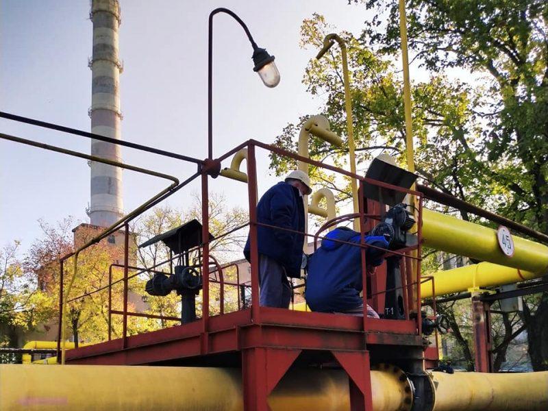 Николаевская ТЭЦ с сегодняшнего дня начала пуск газа (ФОТО)