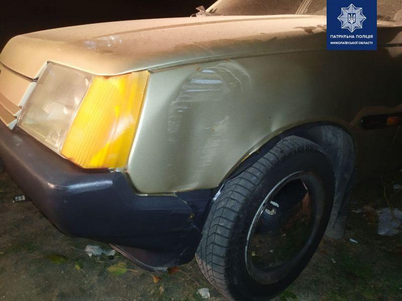 В Николаеве ночью поймали подозрительного водителя – проходить проверку на наркотики он наотрез отказался (ФОТО)
