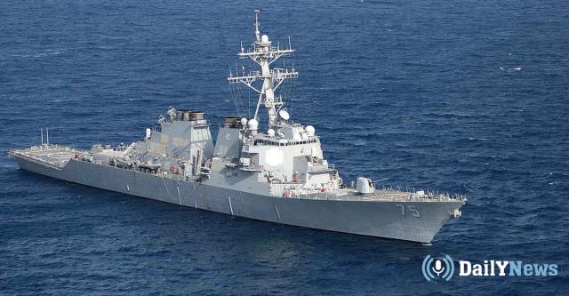 Американский эсминец USS Donald Cook начинает патрулирование в Черном море
