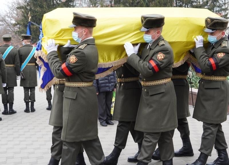 В Фастове попрощались с украинским военным Минкиным, который погиб от пули снайпера (ФОТО)