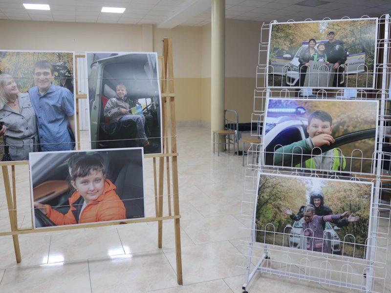 В Николаевском полку Нацгвардии открылась фотовыставка, посвященная детям с особыми потребностями (ФОТО)