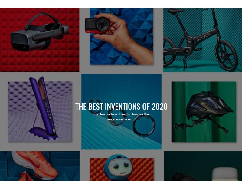 Названы лучшие изобретения 2020 года