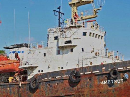 Под Одессой тонет судно-спасатель