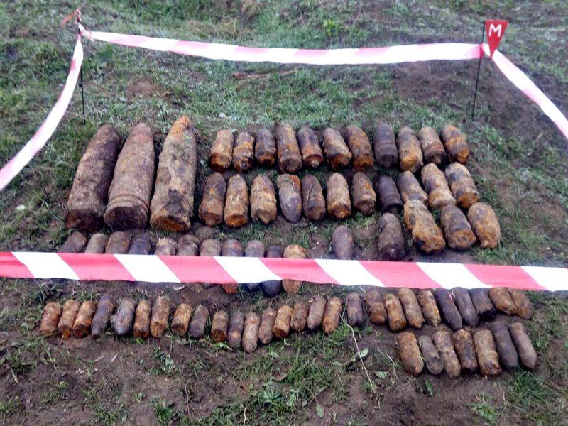 На Николаевщине обезвредили 76 взрывоопасных предметов (ФОТО)