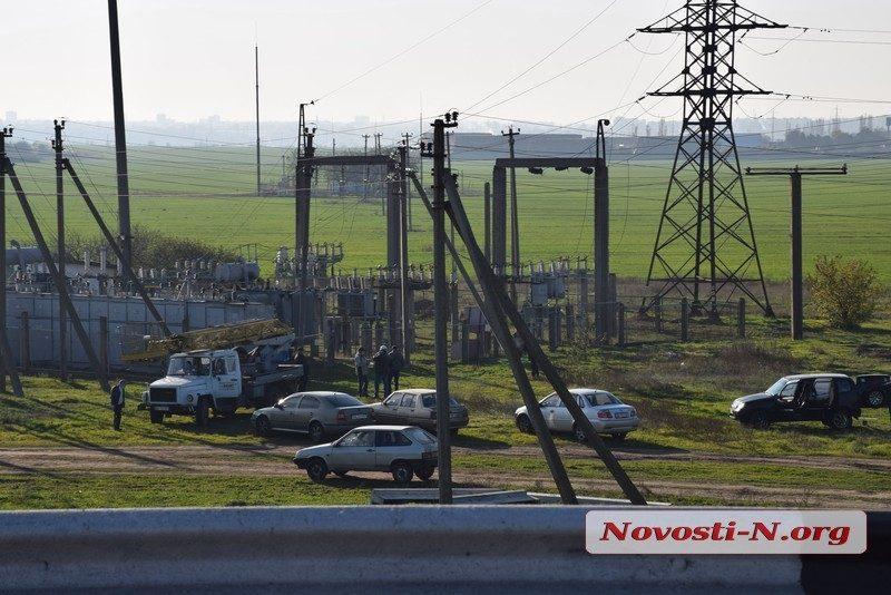 На подстанции под Николаевом от удара током погиб рабочий