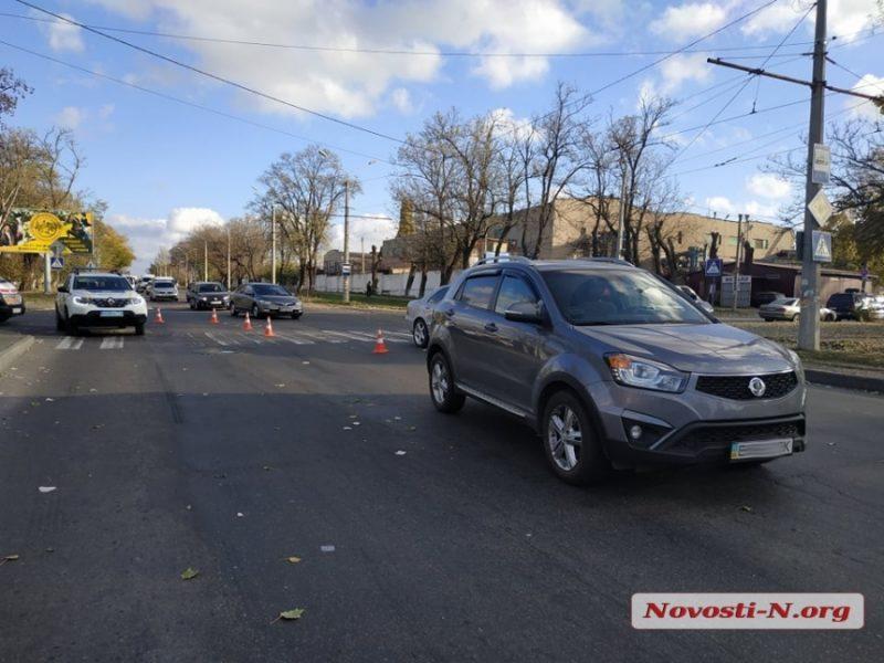 В Николаеве на переходе сбили 9-летнего школьника (ФОТО)