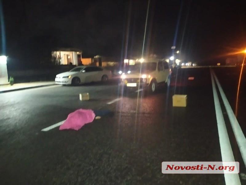 Под Николаевом насмерть сбили женщину, которая неожиданно вышла на дорогу (ФОТО)