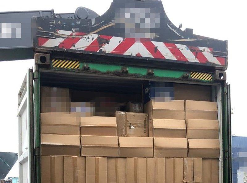 В Одесском порту СБУ обнаружила 16 тонн контрабандных сигарет (ФОТО)