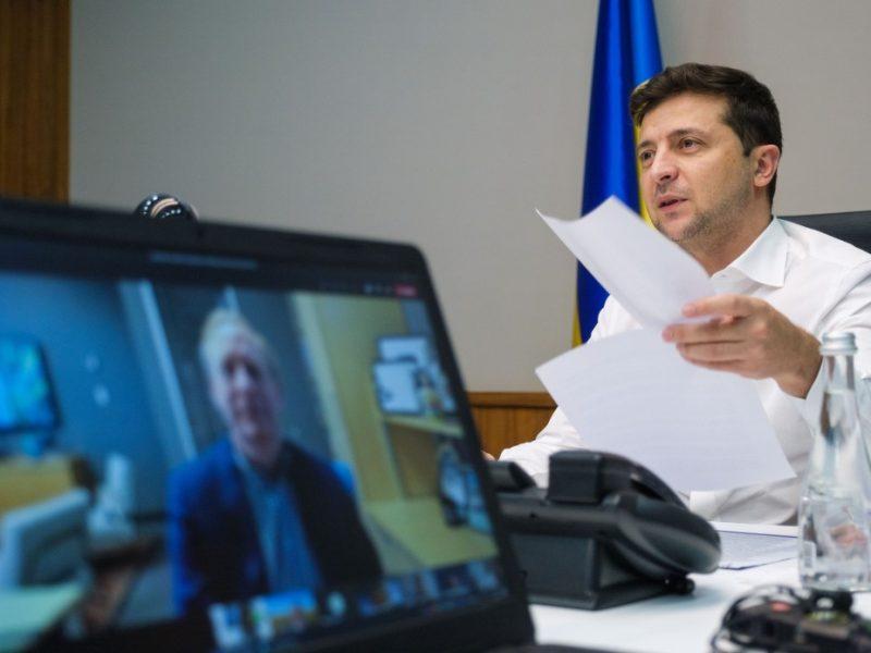 Зеленский предложил Microsoft совместно разработать ПО для онлайн-голосования на президентских выборах (ФОТО)
