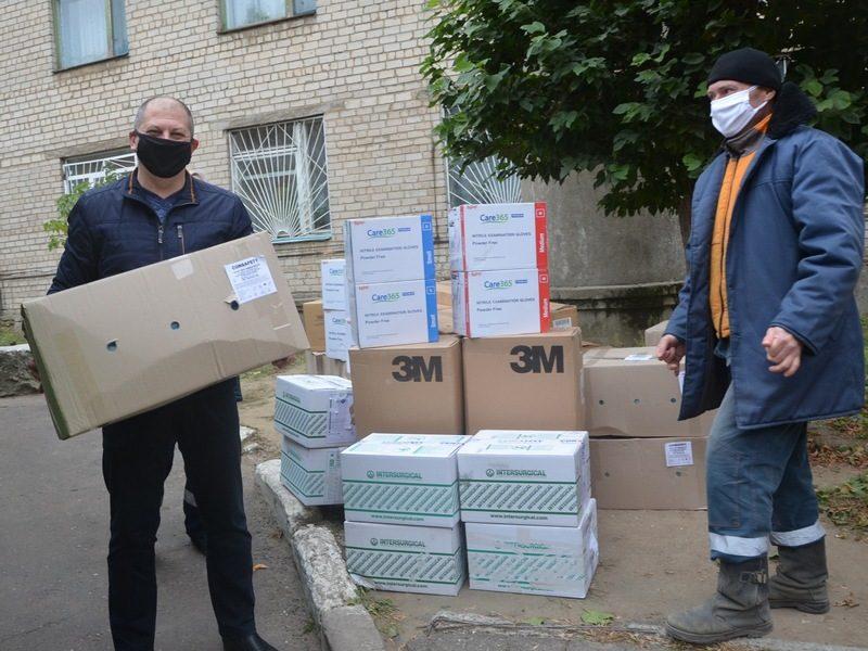 Металлурги вновь помогли николаевским медикам в борьбе с пандемией COVID (ФОТО)