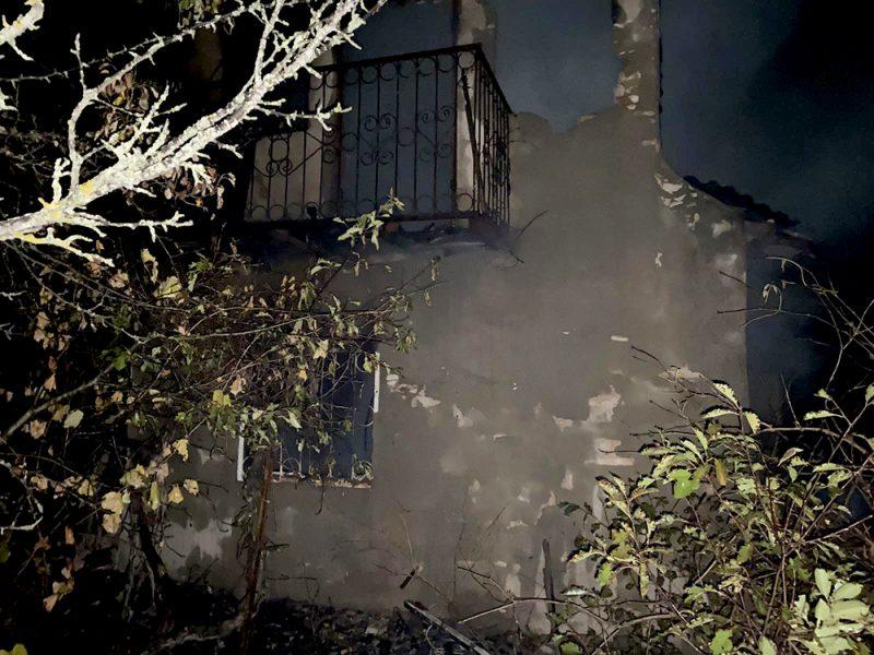 В Себино горела дача – погиб хозяин (ФОТО)