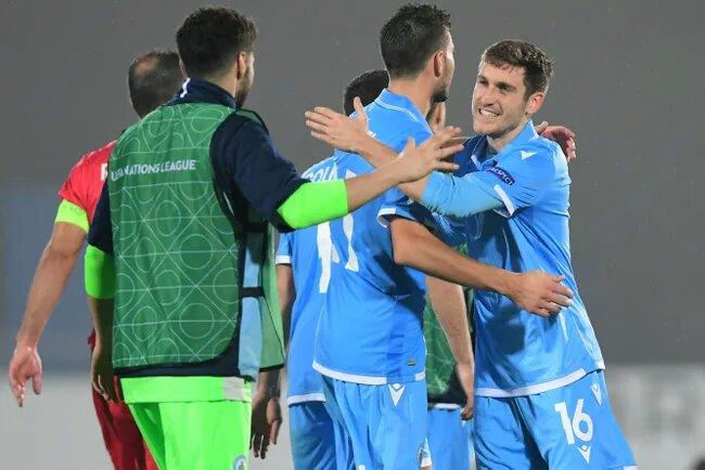 Футболисты сборной Сан-Марино смогли впервые в своей истории не проиграть два официальных матча подряд и расплакались от счастья (ВИДЕО)