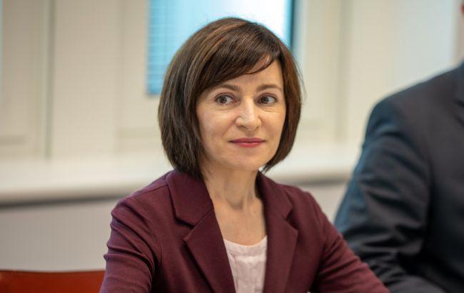 Молдова будет строить дружеские отношения с Украиной, – Санду