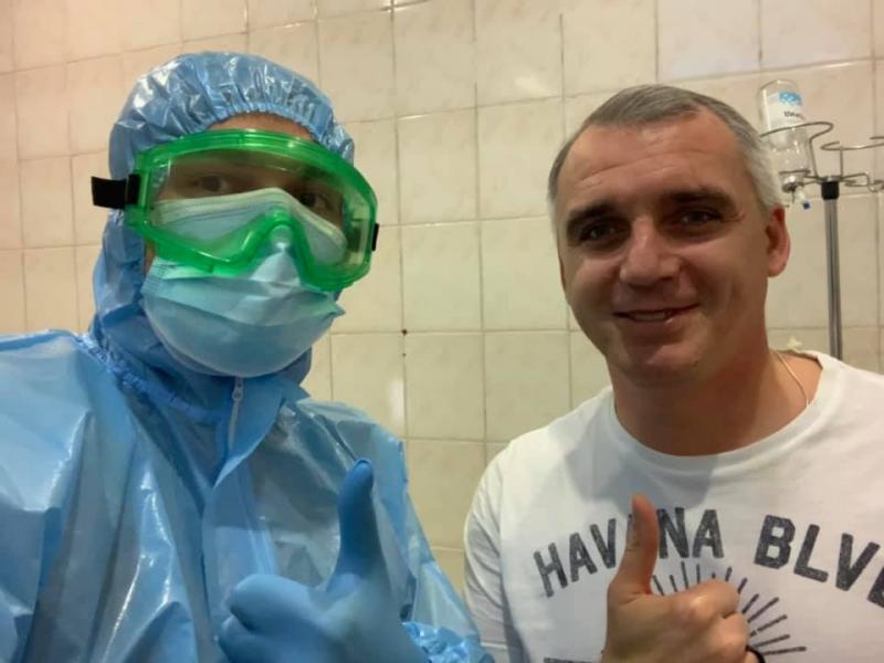 Николаевская медицина – самая крутая в мире, она уже вылечила Сенкевича от ковида (ВИДЕО)