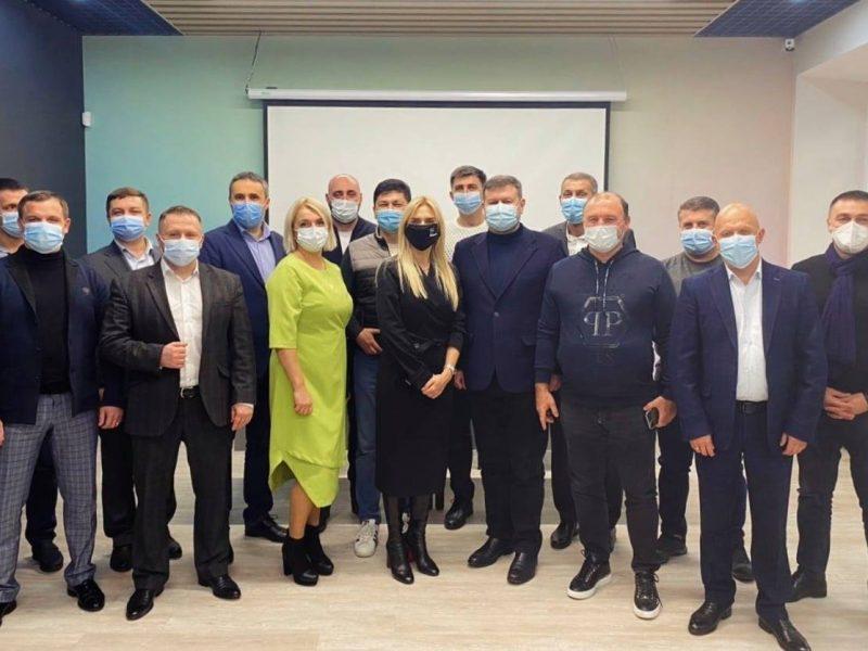 В Николаевской областной команде «Cлуги народа» определились с главой фракции и кандидатом в главы облсовета (ФОТО)