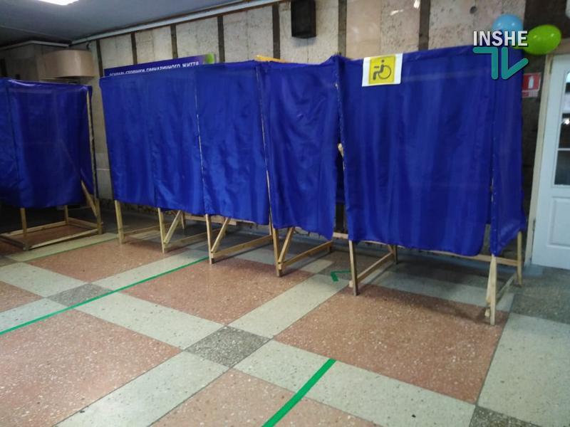 В Николаеве явка избирателей достигла 20%