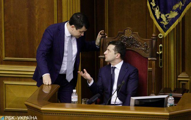 Свежий рейтинг доверия украинских политиков: Разумков догоняет Зеленского