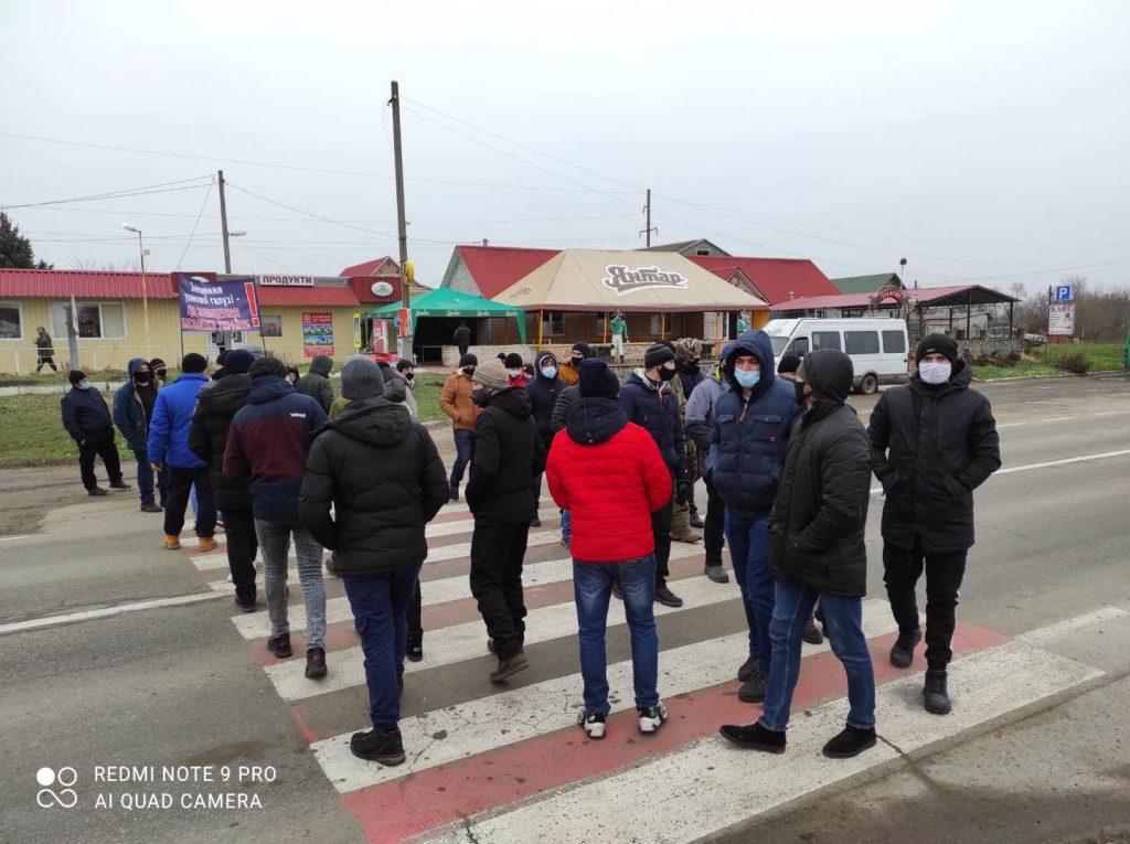 На Кировоградщине бастуют работники урановых шахт: перекрыты три автотрассы (ФОТО, ВИДЕО) 1