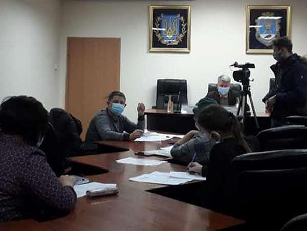 Рабочая группа по «Экотрансу» в Николаевской ОГА: полицейские не пришли, чиновники разводят руками