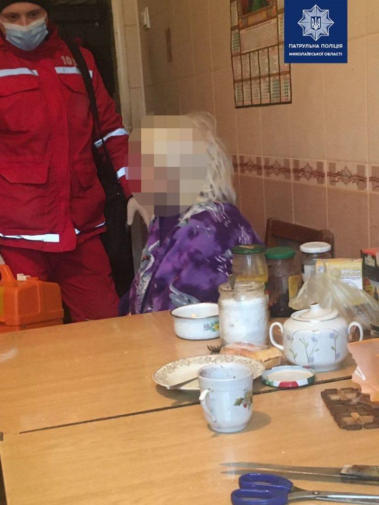 В Николаеве патрульные спасли пожилую женщину от самоубийства (ФОТО) 1