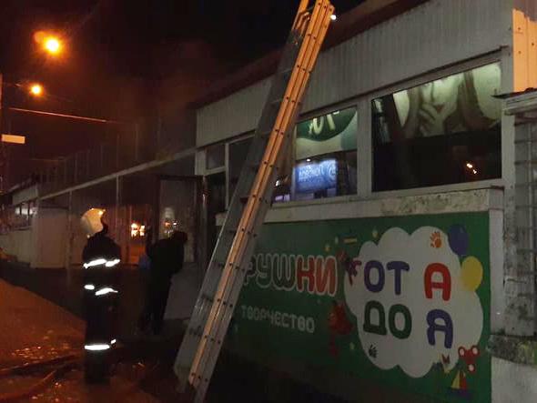 В Николаеве горел магазин игрушек (ФОТО) 1