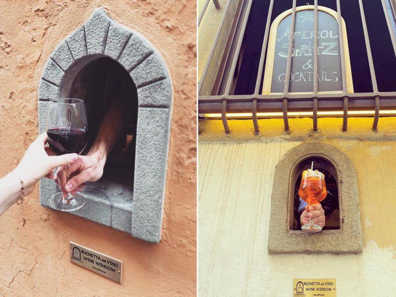 Как во время чумы: в итальянской Флоренции снова заработали «винные окошки»