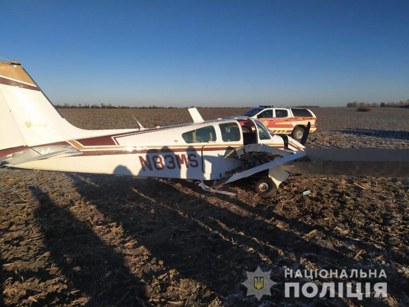 В Киевской области упал самолет – есть пострадавшие (ФОТО)