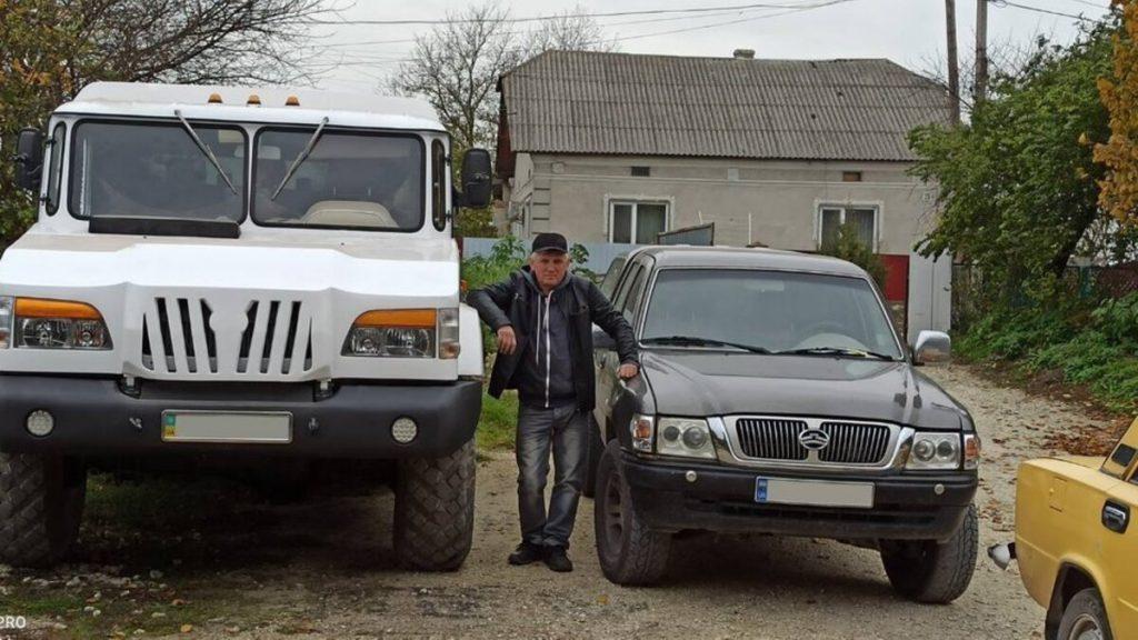В Украине умелец создал внедорожник на базе ГАЗ-66, но с двигателем Мерседеса (ФОТО, ВИДЕО) 1