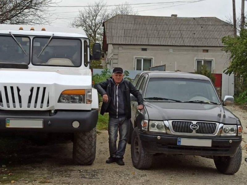 В Украине умелец создал внедорожник на базе ГАЗ-66, но с двигателем Мерседеса (ФОТО, ВИДЕО)