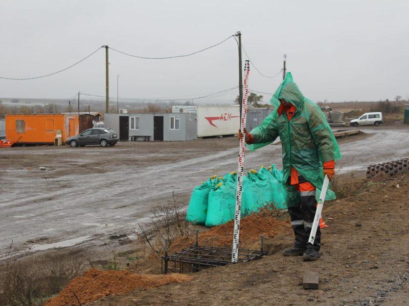 На въезде в  Николаев  начался монтаж первых двух  WIM-систем взвешивания в движении (ФОТО)