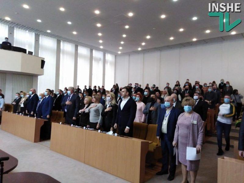 Стартовала первая сессия Николаевского облсовета (ФОТО)