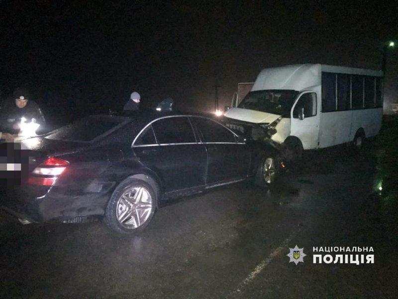 На Николаевщине  в ДТП пострадало 5 человек (ФОТО)