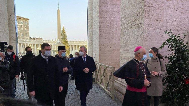 Дух Рождества. Украинский вертеп стал частью выставки в Ватикане (ФОТО) 5