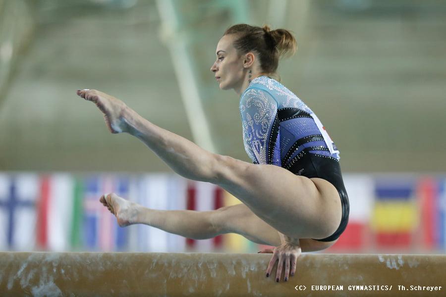 Украинские спортивные гимнастки взяли золото на Чемпионате Европы (ФОТО) 3