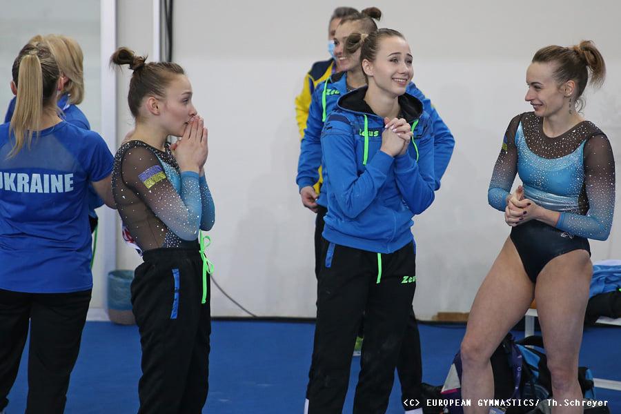 Украинские спортивные гимнастки взяли золото на Чемпионате Европы (ФОТО) 7