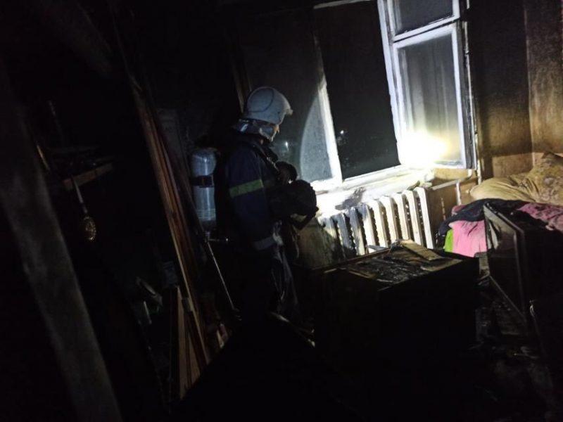 В Южноукраинске из-за свечки чуть не умер жилец девятиэтажки (ФОТО)