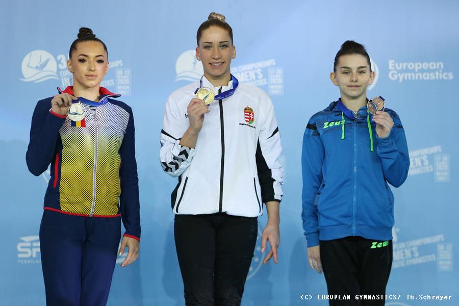 Украинские спортивные гимнастки взяли золото на Чемпионате Европы (ФОТО) 17