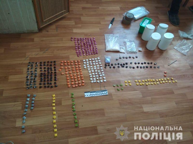 Подробности задержания «закладчика» в Николаеве: изъято наркотиков на четверть миллиона гривен (ФОТО)