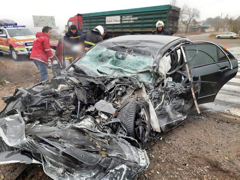 ДТП на трассе Николаев-Одесса: два человека погибли (ФОТО)