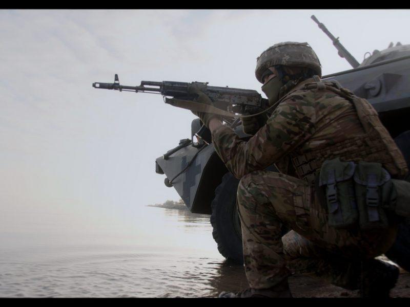 Очаковские «морские котики» принимают участие в съемках документального фильма о Силах специальных операций (ФОТО)