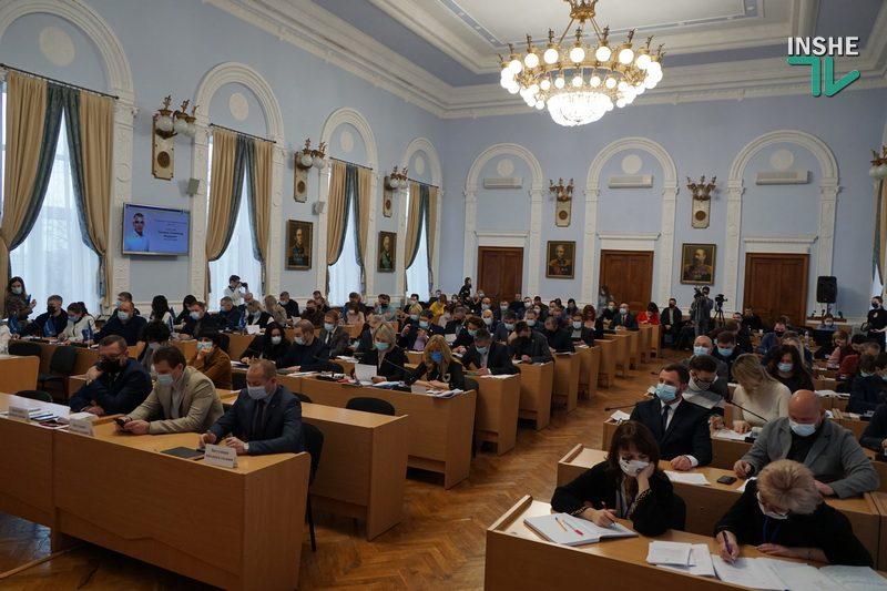 На сессии Николаевского горсовета будут выбирать секретаря (ФОТО)