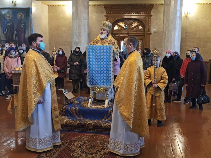 В День святого Николая в Николаеве молились за прекращение эпидемии коронавируса (ФОТО)