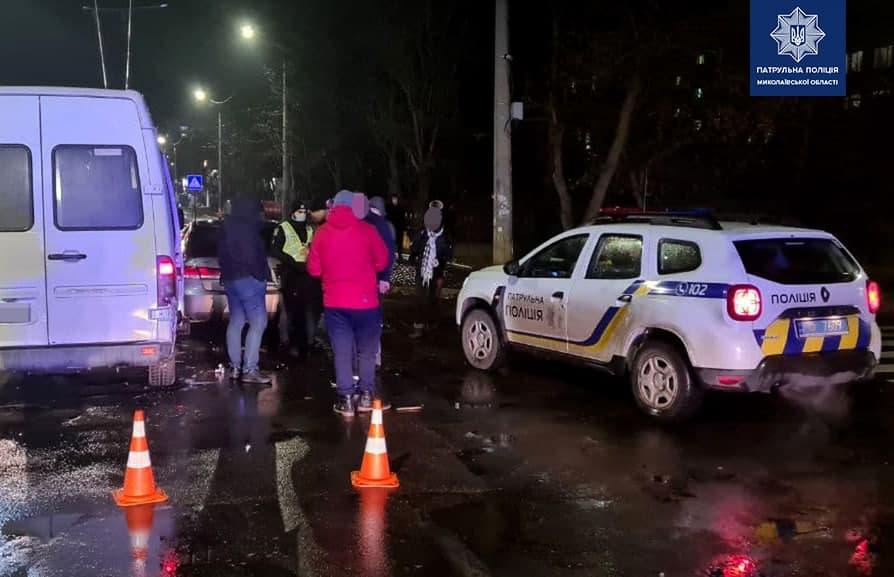 ДТП с легковушкой и маршруткой в Николаеве: водитель легковушки был пьян (ФОТО) 7