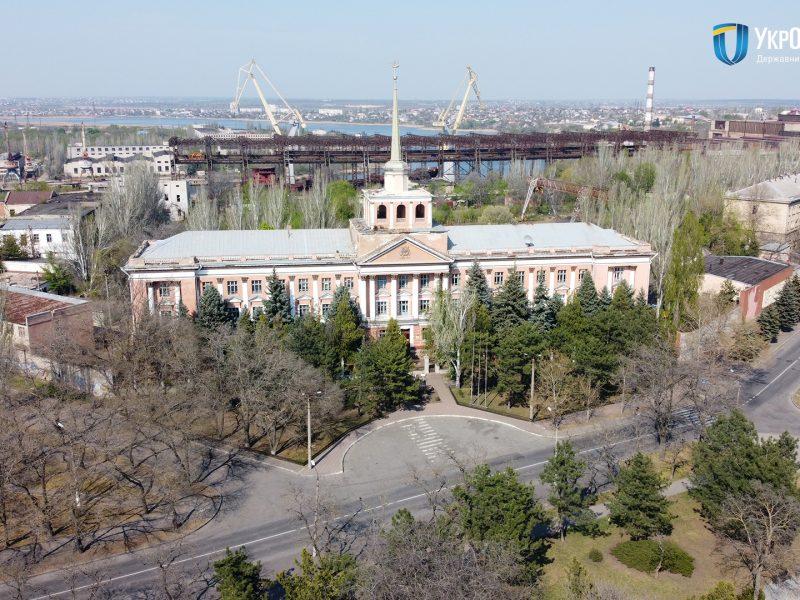 «Укроборонпром» профинансировал ремонт заводоуправления Николаевского судостроительного завода и содержание крейсера зимой (ФОТО)