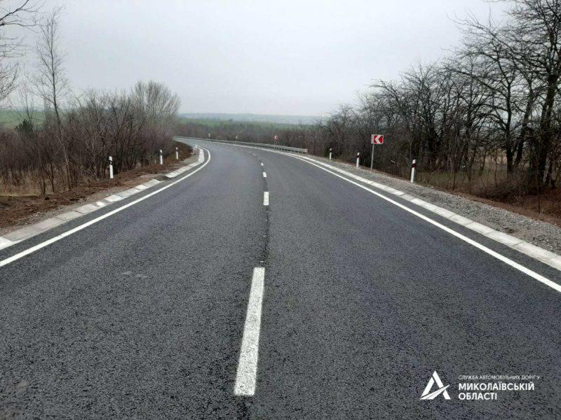 Было-стало: на автодороге Н-11 Днепр-Николаев ввели в эксплуатацию 2 участка (ФОТО)